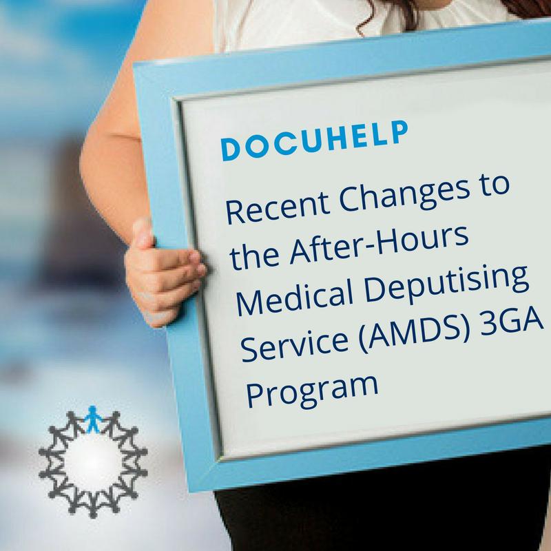 AMDS 3GA Changes