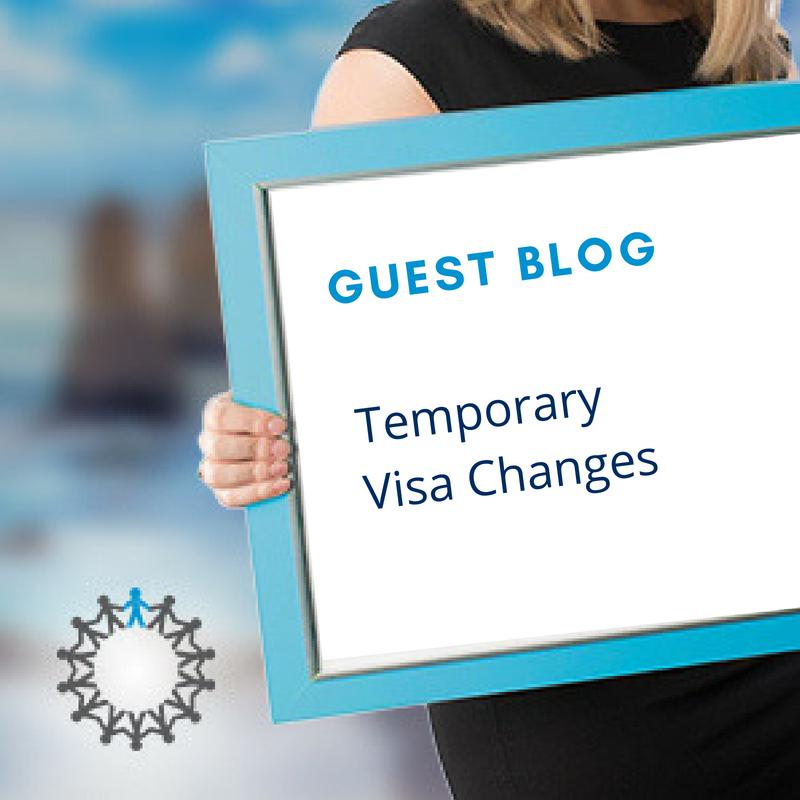 Temporary Visa Changes