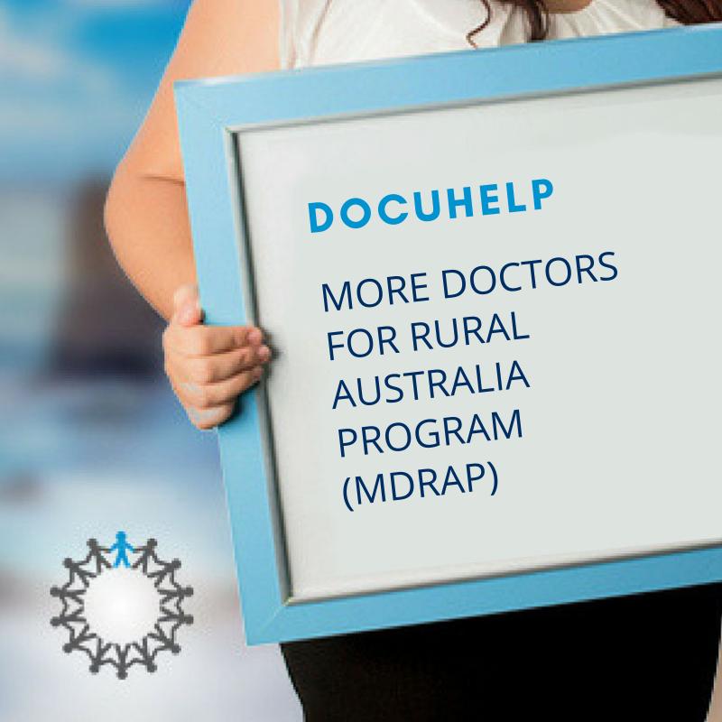 MORE DOCTORS FOR RURAL AUSTRALIA PROGRAM (MDRAP)