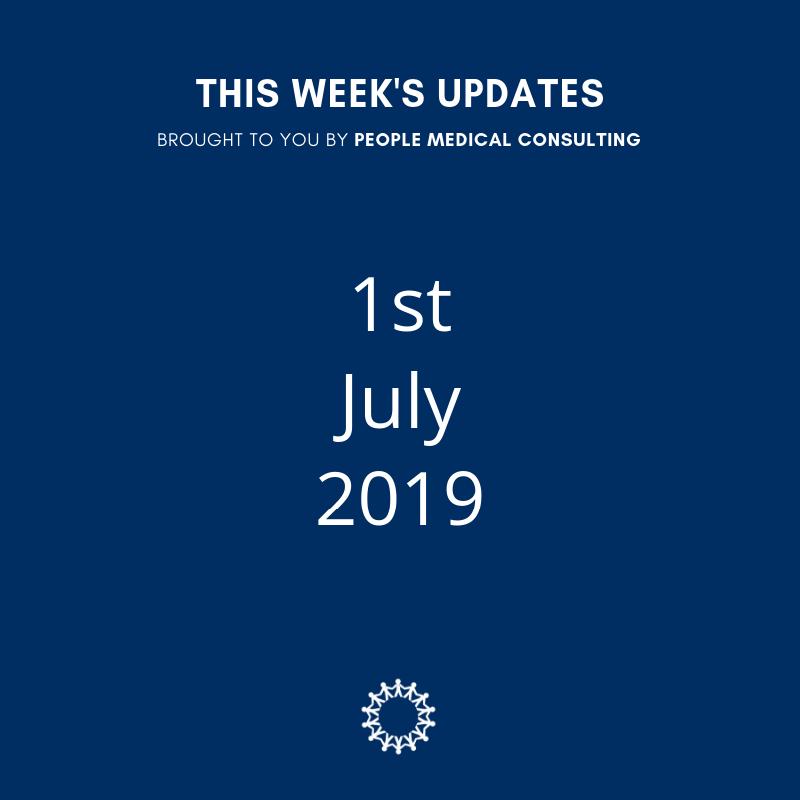 1st July 2019 Updates